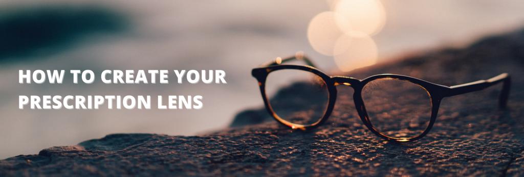 How to make your prescription lens logo